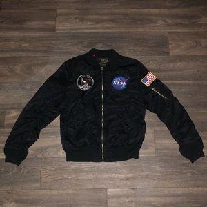 Alpha Industries NASA Apollo Bomber Jacket